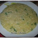 Risotto al curry e prezzemolo