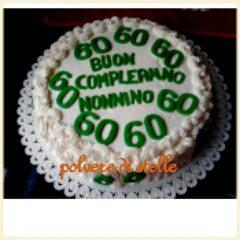 torta per un Nonnino di 60 anni