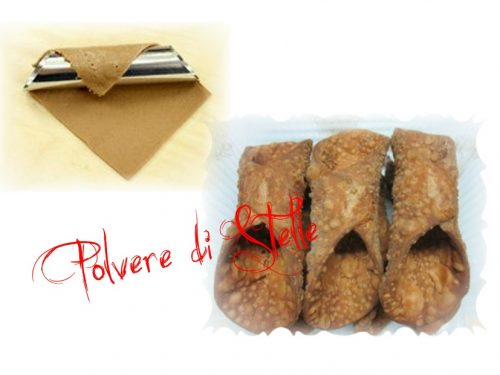 Bucce di cannoli siciliane