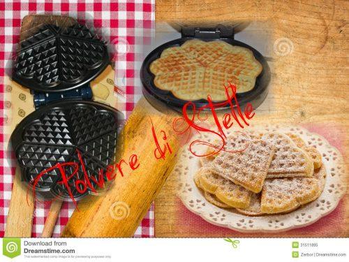 waffel al miele