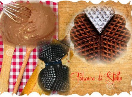 waffel al cioccolato