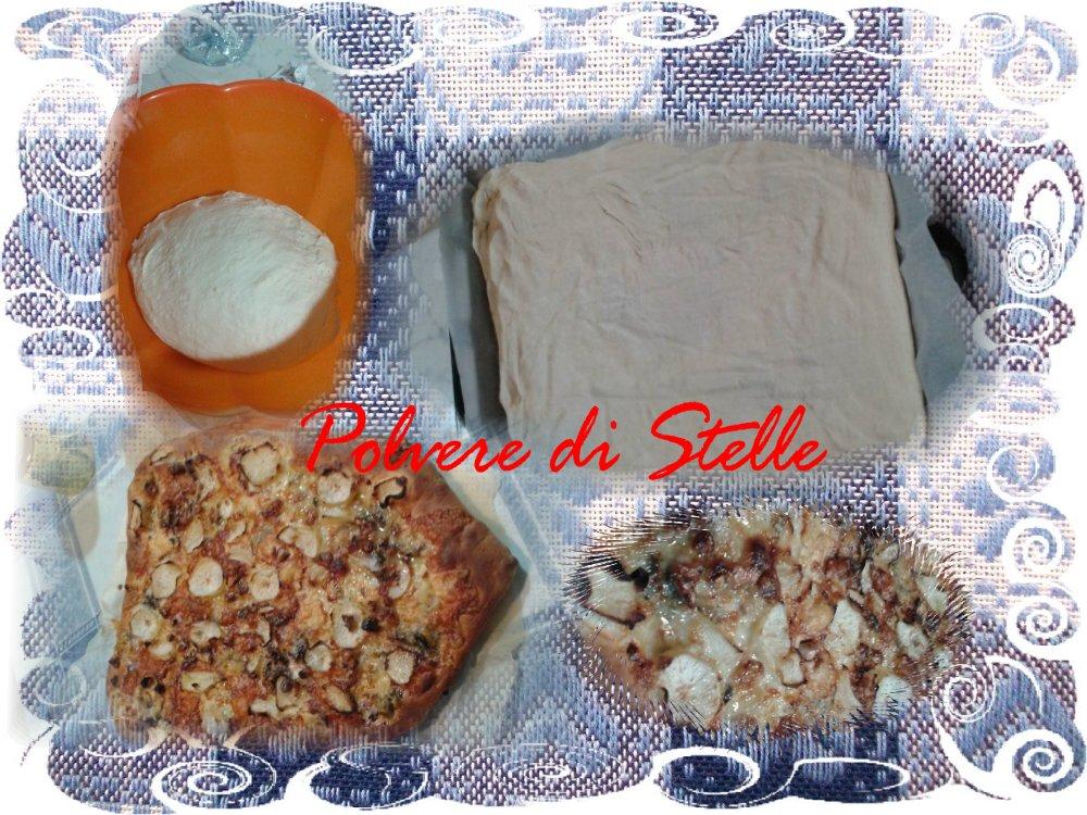 Impasto per pizza sottile e croccante versione Bimby