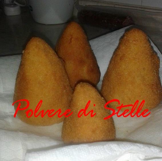 Ricetta degli arancini a Catania
