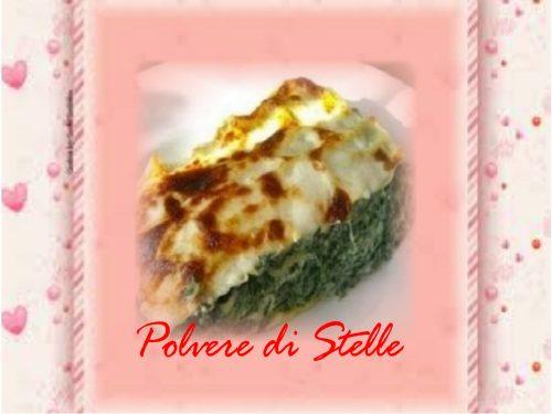 lasagne fresche con ricotta e spinaci