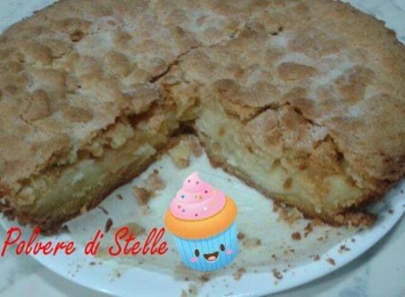 crostata con crema alle mele