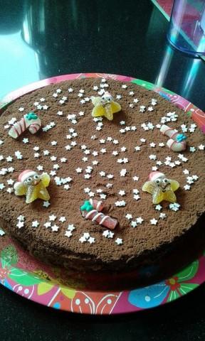 torta versata nutellosa