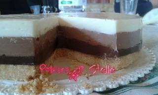 Ricetta semplicissima la torta tre cioccolati (11)