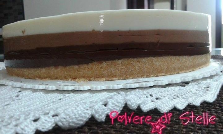 Ricetta semplicissima la torta tre cioccolati (19)