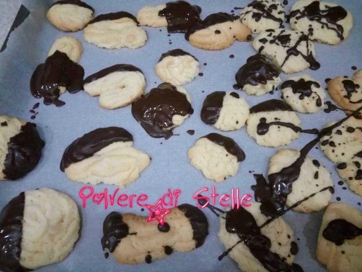 Biscottini al burro di frolla montata Bimby