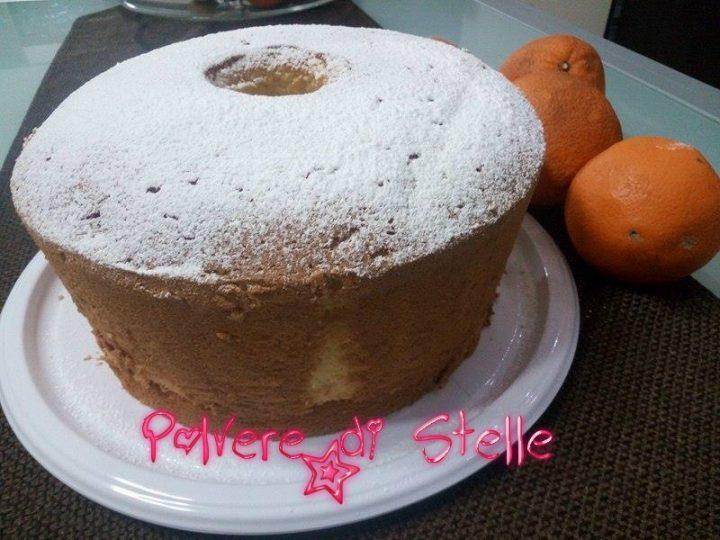 chiffon cake all'arancia stavolta mi sono superata