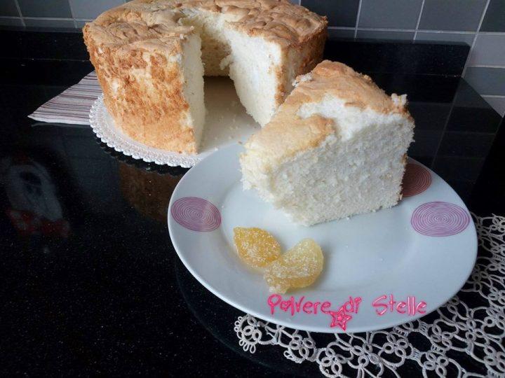 Angel cake ricetta originale Americana riuscitissima