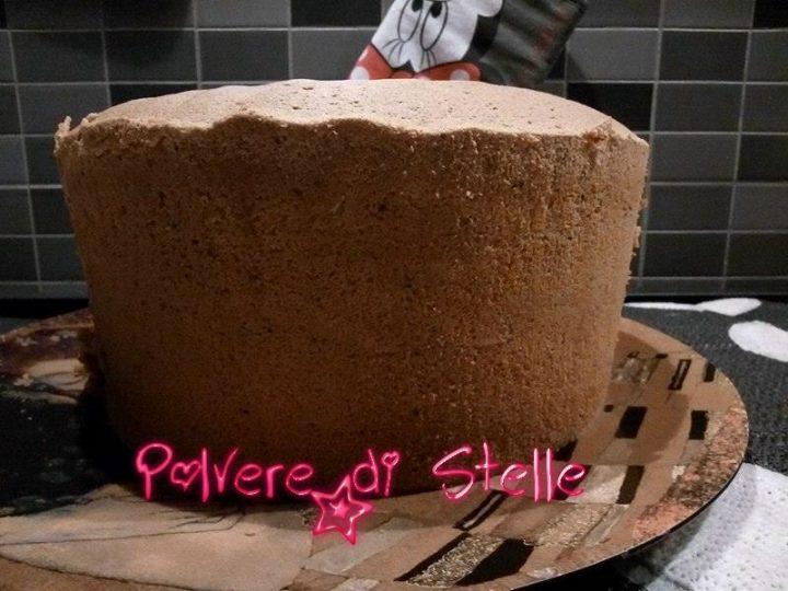 Chiffon cake al profumo d'arancia e semi di papavero
