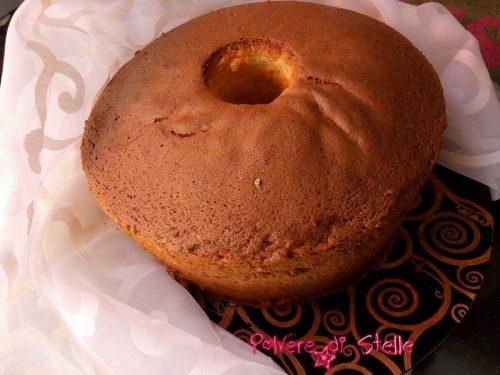 chiffon cake altissimo sofficissimo ai lamponi