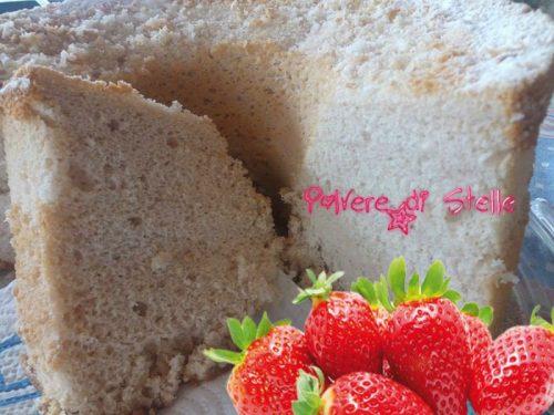 Chiffon cake alle fragole ricetta originale