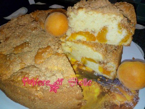 Torta soffice alle albicocche e amaretti Bimby