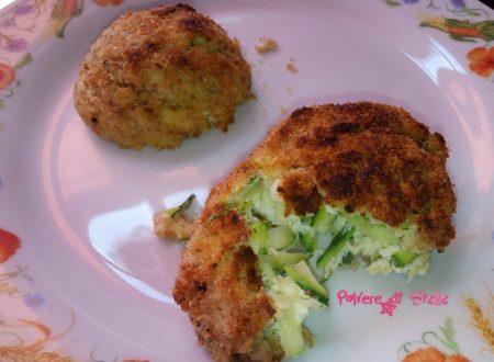 Polpette di ricotta e zucchine  ricetta light