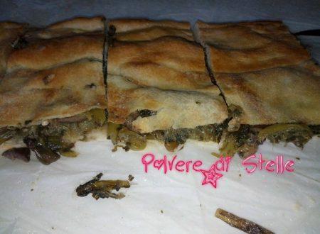 pizza scarola napoletana rifatta da siciliana