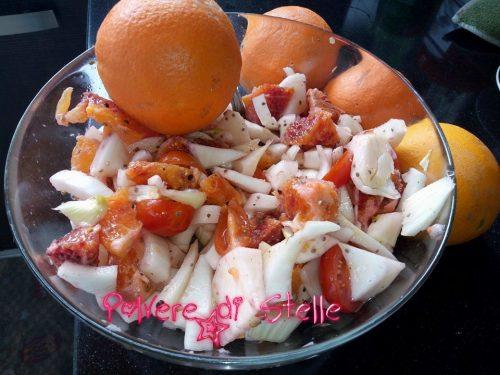 insalata light di arance e finocchi