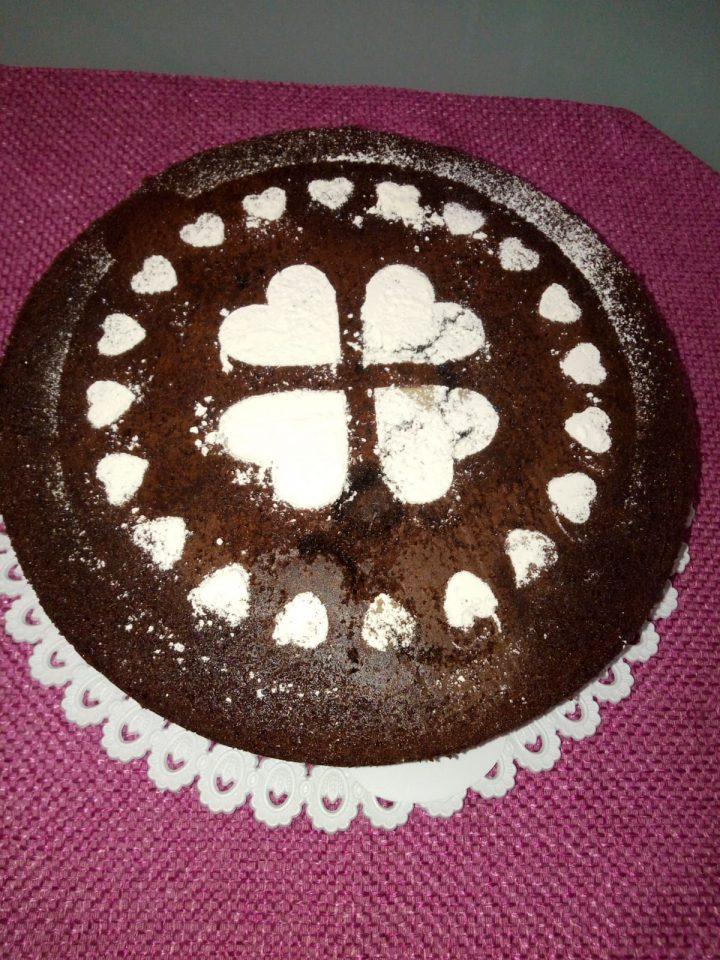 Torta estasy preparata con il Bimby e senza