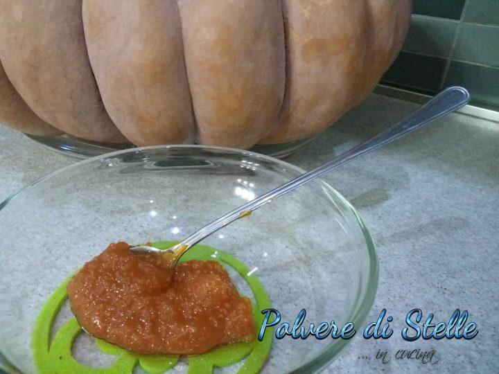 Marmellata di zucca gialla speziata allo zenzero