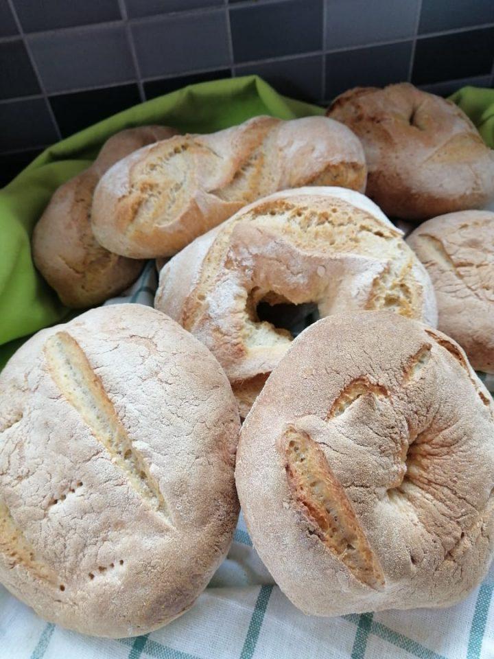 Pane fatto a casa con lievito madre