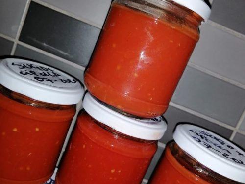 Conserva di pomodori bimby