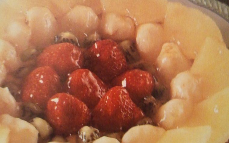 Torta Festosa alla frutta