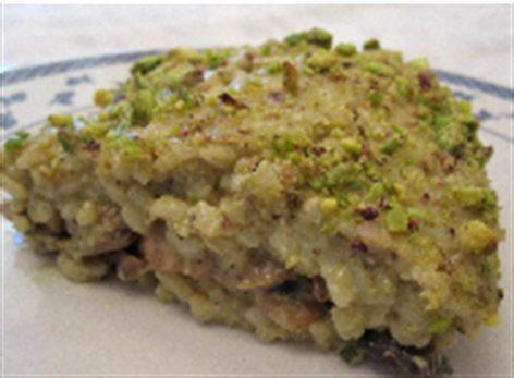 Risotto con pesto di pistacchi e speck