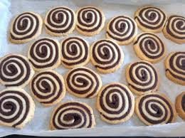 Biscottini Nutellati Bicolore