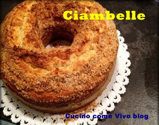 Ciambelle all'anice