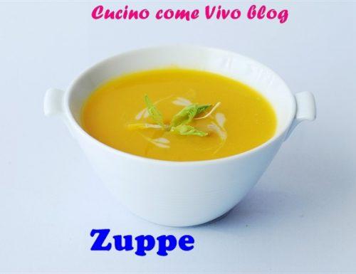 Zuppa di barbabietole rosse( fredda)