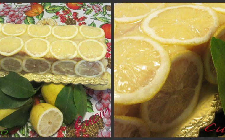 Tronchetto al limone