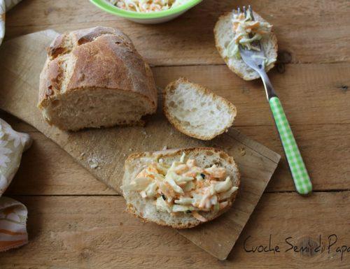 Coleslaw insalata americana cavolo e carote ricetta