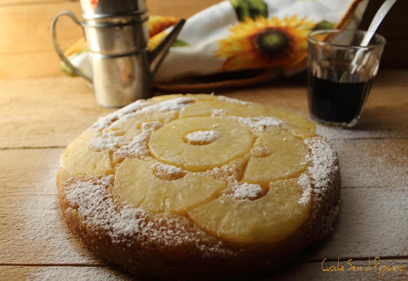 TORTA ROVESCIATA ricetta facile con ananas