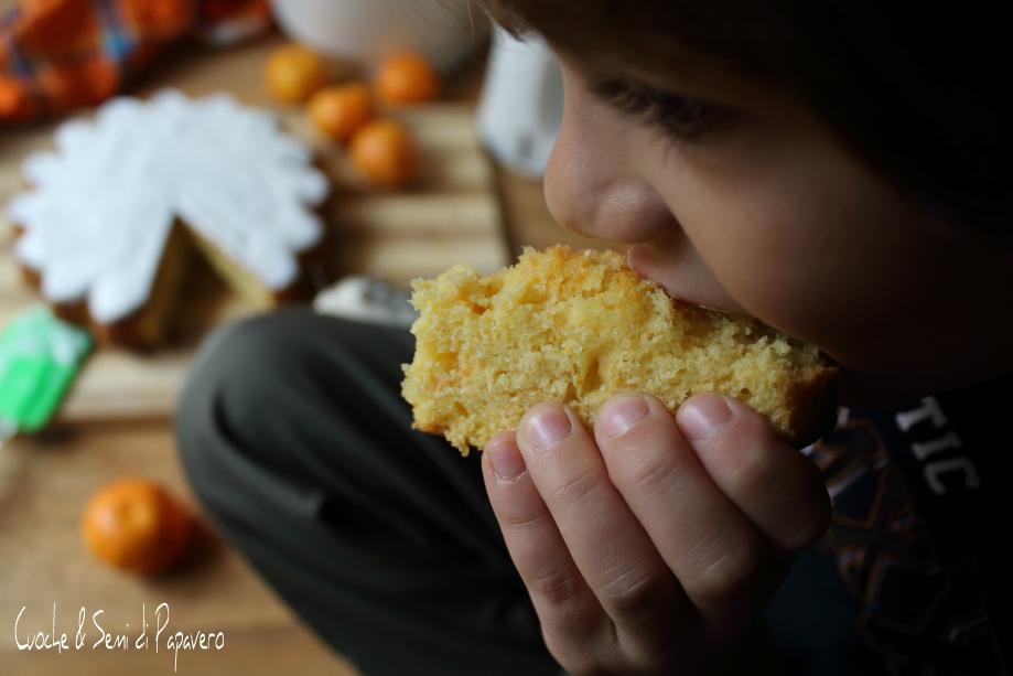 torta ai mandarini con glassa allo zucchero