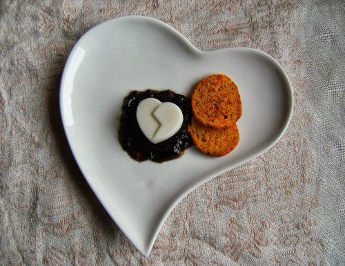 Cuore di pannacotta al pecorino