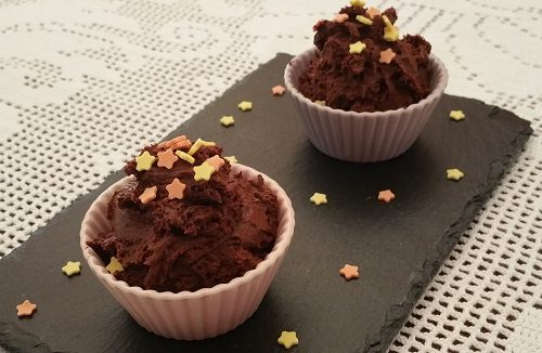 Mousse al cioccolato velocissima