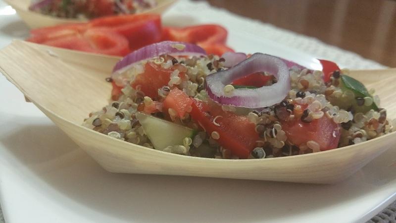 Panzanella di quinoa