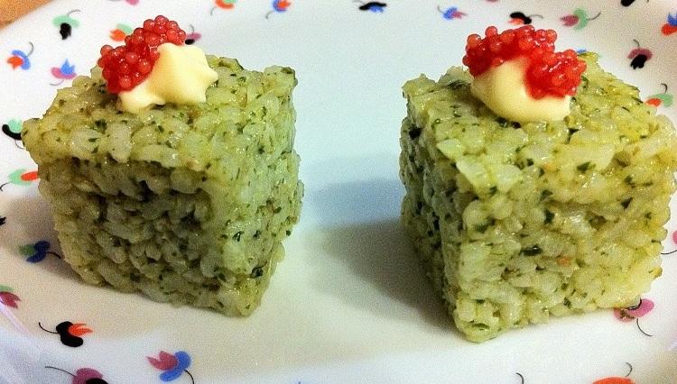 Cubetti di riso
