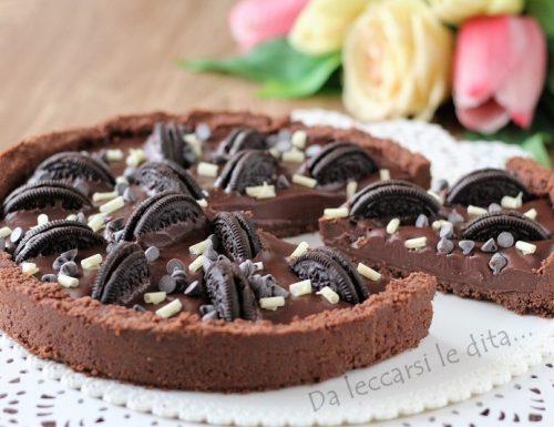 Torta con Oreo al cioccolato senza cottura