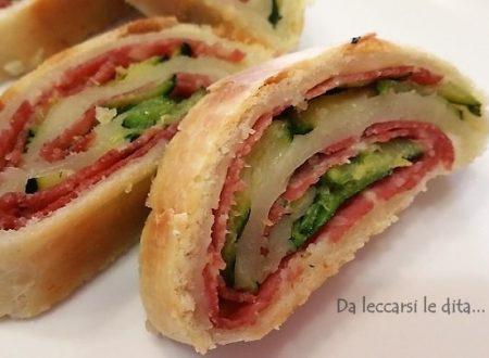Finger food di salame e zucchine velocissimo