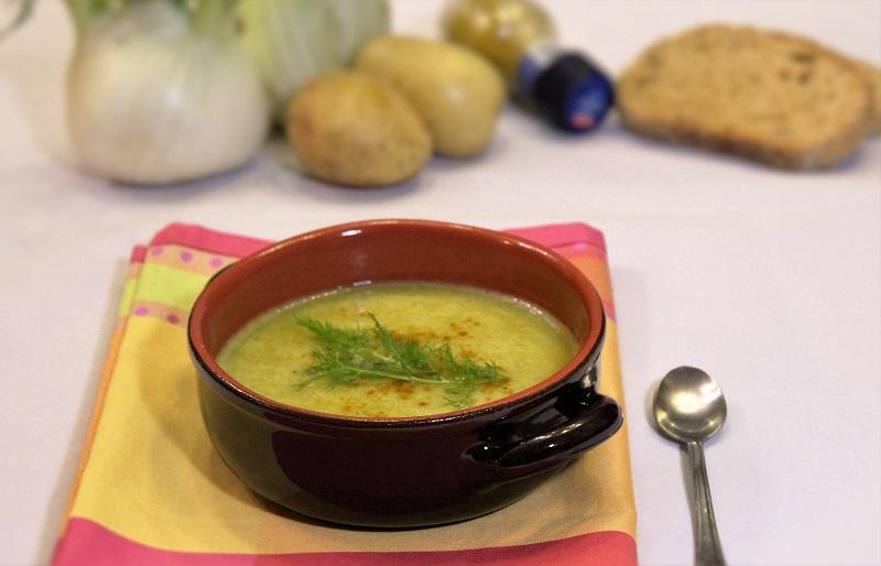 Crema di finocchi e curry