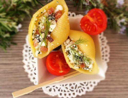 Conchiglioni finger food ricetta facile