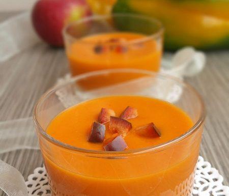 Crema fredda di peperoni e mele