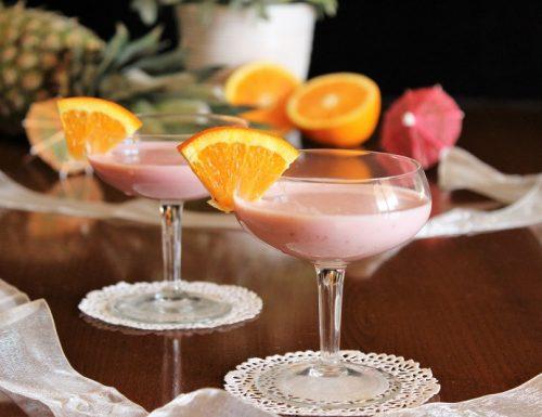 Cocktail analcolico light estivo da bere freddo