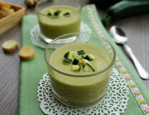 Crema di zucchine light per l'estate e l'inverno