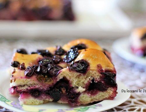 Schiacciata con l'uva ricetta fiorentina doc