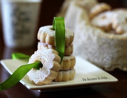 Canestrelli  biscotti liguri ricetta facile