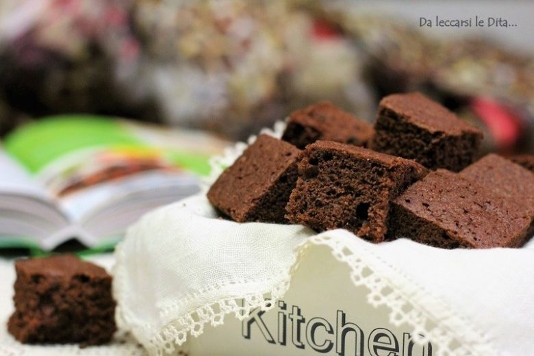 Brownies al cioccolato dolci americani golosi
