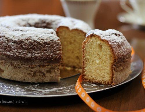 Lemon Drizzle Cake torta soffice soffice
